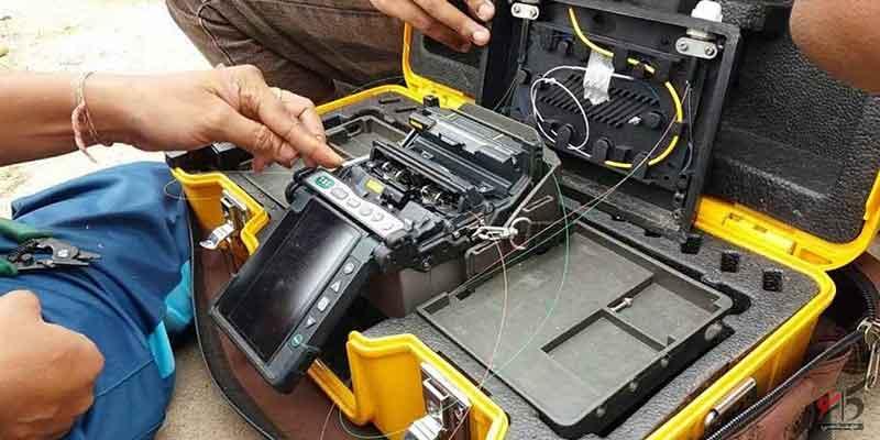اتصال جوش فیبر نوری,اتصال فیوژن,اتصال مکانیکی,