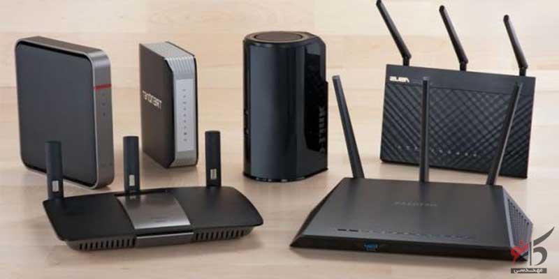 انواع مودم ها,LAN,Wired,